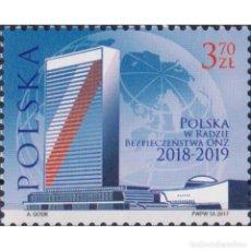 Sellos: ⚡ DISCOUNT POLAND 2017 POLAND IN THE UN SECURITY COUNCIL 2018-2019 MNH - UN. Lote 296063733