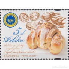 Sellos: ⚡ DISCOUNT POLAND 2017 POLISH REGIONAL PRODUCTS MNH - FOOD. Lote 296063738