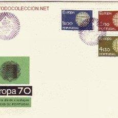 Sellos: PORTUGAL SPD 1073/75 - AÑO 1970 - EUROPA. Lote 16374406