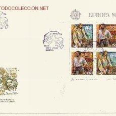 Sellos: PORTUGAL SPD HB 30 - AÑO 1980 - EUROPA - PERSONAJES. Lote 8852186