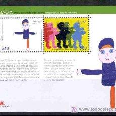 Sellos: PORTUGAL 2006.- EUROPA HOJA BLOQUE DE AZORES. Lote 3071245