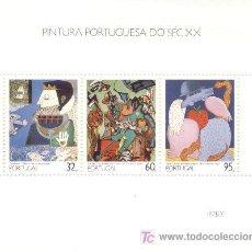 Sellos: SELLO PORTUGAL = PINTURA PORTUGUESA =. Lote 6542812