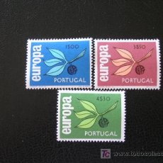 Sellos: PORTUGAL 1965 IVERT 971/3 *** EUROPA. Lote 20269216