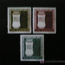 Sellos: PORTUGAL 1964 IVERT 935/7 *** 4 CENTENARIO COLOQUIOS DE PRODUCTOS NATURALES. Lote 18235581