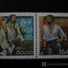 Sellos: PORTUGAL 1980 IVERT 1466/7 *** EUROPA - PERSONAJES CELEBRES. Lote 17249783