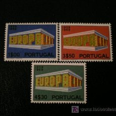 Sellos: PORTUGAL 1969 IVERT 1051/3 *** EUROPA. Lote 26591994