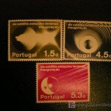 Sellos: PORTUGAL 1974 IVERT 1214/6 *** COMUNICACIONES POR SATELITE. Lote 10945739