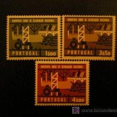 Sellos: POORTUGAL 1966 IVERT 984/6 *** 40 ANIVERSARIO REVOLUCIÓN NACIONAL. Lote 11057698