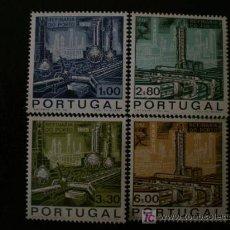 Sellos: PORTUGAL 1970 IVERT 1076/9 *** INAUGURACIÓN REFINERÍA DE PETROLEO DE PORTO. Lote 20269278
