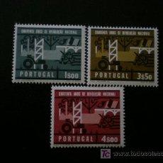 Sellos: PORTUGAL 1966 IVERT 984/6 *** 40º ANIVERSARIO DE LA REVOLUCIÓN NACIONAL. Lote 20269300