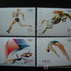 Sellos: PORTUGAL 2000 IVERT 2437/40 *** JUEGOS OLIMPICOS DE SYDNEY - DEPORTES. Lote 11662141