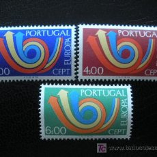 Sellos: PORTUGAL 1973 IVERT 1179/81 *** EUROPA. Lote 26591975