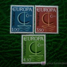 Sellos: PORTUGAL 1966 IVERT 993/5 *** EUROPA. Lote 20393789
