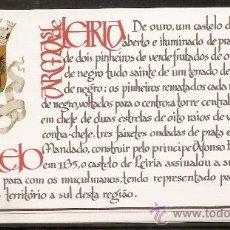 Sellos: PORTUGAL,CARNET,CASTILLO DE LEIRIA.. Lote 15297431