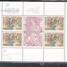 Sellos: PORTUGAL HB 36 SIN CHARNELA, TEMA EUROPA, HECHOS HISTORICOS. Lote 41057589