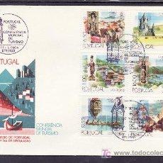 Sellos: PORTUGAL 1476/81 PRIMER DIA, CONFERENCIA MUNDIAL DE TURISMO EN MANILA. Lote 16726712