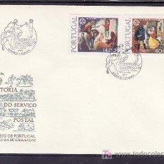 Sellos: PORTUGAL 1421/2 PRIMER DIA, TEMA EUROPA, HISTORIA DEL CORREO. Lote 16727010