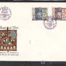 Sellos: PORTUGAL 1030/1 PRIMER DIA, HOMENAJE AL SOLDADO Y MISIONERO BENTO DE GOES. Lote 16746197