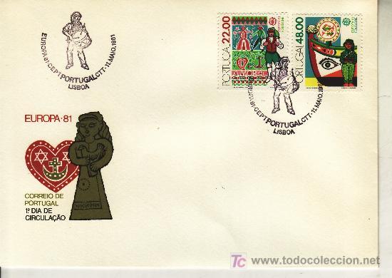 PORTUGAL 1509/10 PRIMER DIA, TEMA EUROPA, FOLKLORE (Sellos - Extranjero - Europa - Portugal)