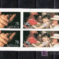 Sellos: PORTUGAL 2092A CARNET SIN CHARNELA, 50º ANIVERSARIO DE UNICEF, FONDOS DE LAS NN.UU. PARA LA INFANCIA. Lote 24667410