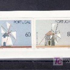 Sellos: PORTUGAL 1770A CARNET SIN CHARNELA, MOLINOS DE VIENTO. Lote 19447239