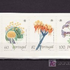 Sellos: PORTUGAL 1780A CARNET SIN CHARNELA, FLORA, FLORES SALVAJES. Lote 186219291