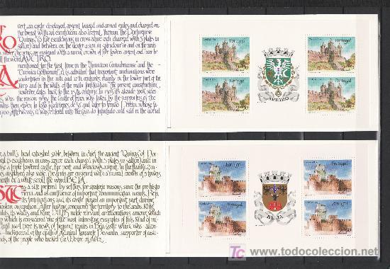 PORTUGAL 1657 CARNET, 1658 CARNET SIN CHARNELA, CASTILLOS DE FEIRA Y DE BEJA (Sellos - Extranjero - Europa - Portugal)