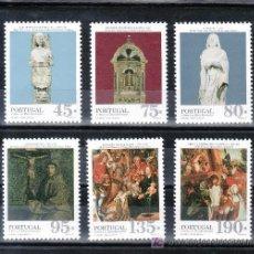 Sellos: PORTUGAL 2068/73 SIN CHARNELA, ARTE Y DESCUBRIMIENTOS,. Lote 16873231