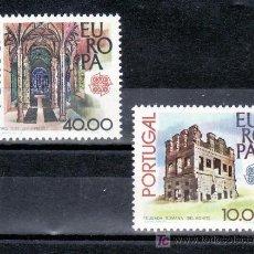 Sellos: PORTUGAL 1383/4 SIN CHARNELA, TEMA EUROPA, MONUMENTOS . Lote 21986766