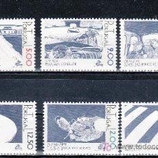 Sellos: PORTUGAL 1377/82 SIN CHARNELA, VIAJAR ES VIVIR, SEGURIDAD VIAL,. Lote 173028582
