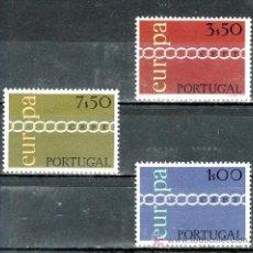 Sellos: PORTUGAL 1107/9 CON CHARNELA, TEMA EUROPA,. Lote 16929193