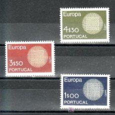 Sellos: PORTUGAL 1073/5 CON CHARNELA, TEMA EUROPA. Lote 16929372