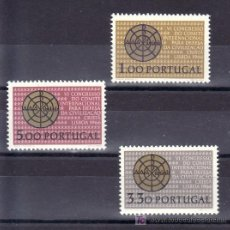 Sellos: PORTUGAL 981/3 SIN CHARNELA, 6º CONGRESO INTERNACIONAL DE LA DEFENSA DE LA CIVILIZACION CRISTIANA. Lote 16947468