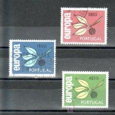 Sellos: PORTUGAL 971/3 USADA, TEMA EUROPA,. Lote 16947498