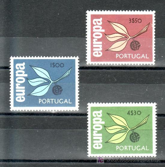 PORTUGAL 971/3 SIN CHARNELA, TEMA EUROPA, (Sellos - Extranjero - Europa - Portugal)