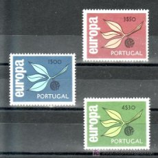 Sellos: PORTUGAL 971/3 SIN CHARNELA, TEMA EUROPA,. Lote 21681150