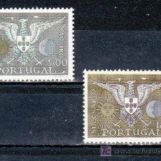 Sellos: PORTUGAL 857/8 CON CHARNELA, MILENARIO FUNDACION Y BICENTENERIOA DEL TITULO DE CIUDAD DE AVEIRO. Lote 16963114