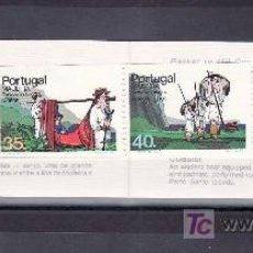 Sellos: PORTUGAL MADEIRA 98A CARNET SIN CHARNELA, TRANSPORTES TIPICOS DE MADEIRA, . Lote 22004826