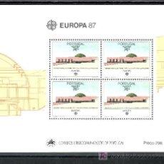 Sellos: PORTUGAL AZORES HB 8 SIN CHARNELA, TEMA EUROPA, ARQUITECTURA MODERNA. Lote 17011289
