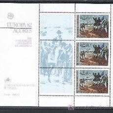 Sellos: PORTUGAL AZORES HB 3 SIN CHARNELA, TEMA EUROPA, HECHOS HISTORICOS, EMBARQUE DE LOS VALIENTES MINDEL. Lote 17011381