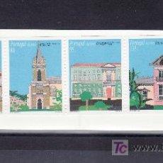 Sellos: PORTUGAL AZORES 442A CARNET SIN CHARNELA, ARQUITECTURA CIVIL DE LAS AZORES. Lote 26493378