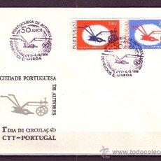 Sellos: PORTUGAL SPD 1285/86 - AÑO 1976 - 50º ANIVERSARIO DE LA SOCIEDAD PORTUGUESA DE AUTORES. Lote 17085975