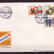 Sellos: PORTUGAL SPD 1293/95 - AÑO 1976 - EXPOSICION FILATELICA INTERNACIONAL INTERPHIL 76. Lote 17086447