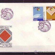 Sellos: PORTUGAL SPD 1310/11 - AÑO 1976 - EXPOSICION FILATELICA LUBRAPEX 76. Lote 17086677