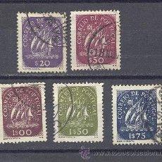 Sellos: PORTUGAL- 1943-1949- CARAVELA-USADOS. Lote 21857395