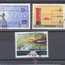 Sellos: PORTUGAL- 1973- YVES TELLIER 1189-1190-1191-USADOS. Lote 21858158