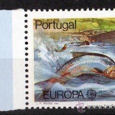 Sellos: PORTUGAL AÑO 1986 YV 1667*** EUROPA - PROTECCIÓN DE LA NATURALEZA Y MEDIO AMBIENTE - PECES - FAUNA. Lote 22072658