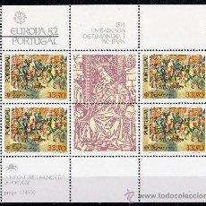 Sellos: PORTUGAL AÑO 1982 YV HB 36*** EUROPA - HECHOS HISTÓRICOS - HISTORIA. Lote 27482418