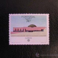 Sellos: PORTUGAL AZORES 1987 IVERT 372 *** EUROPA - ARQUITECTURA MODERNA - MONUMENTOS. Lote 27969330