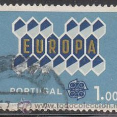 Sellos: PORTUGAL IVERT 908, EUROPA 1962, USADO. Lote 27976530